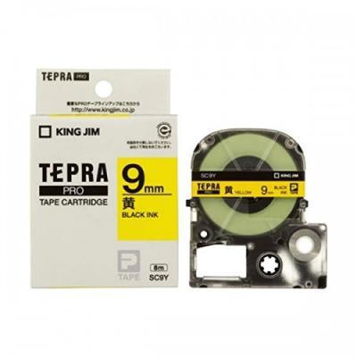 TEPRA SC9Y - Chữ đen nền vàng 9mm