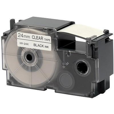 Casio XR-24X1 / Chữ đen nền trong 24mm