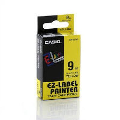 Casio XR-9YW / Chữ đen nền vàng 9mm