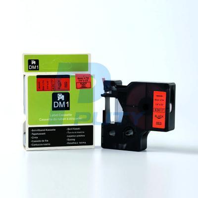 DM-43617 Black on Red 6mm x 7met