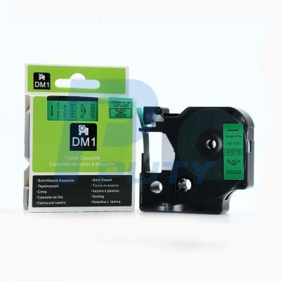 DM-45019 Black on Green 12mm x 7met
