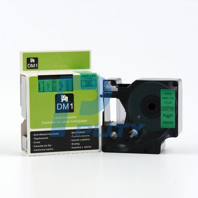 DM-53719 Black on Green 24mm x 7met